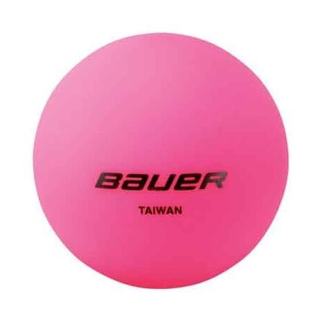 Balle Bauer Street Hockey Rose - promoglace