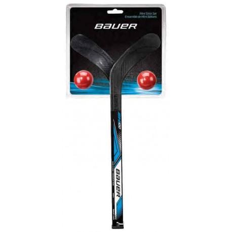 Kit mini crosses et balles Bauer Street Hockey - promoglace