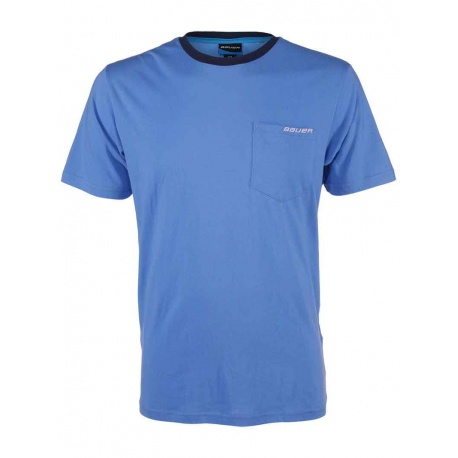 T-shirt Bauer Baby Blue Throwback - promoglace