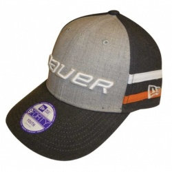 Casquette Bauer Hockey Heather Stripe Ajustable Enfant - promoglace