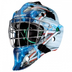Masque Bauer Hockey NME4 Design - Promoglace Goalie