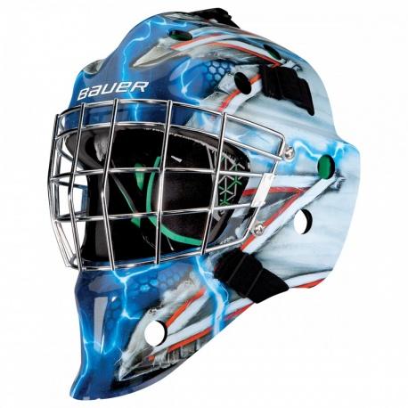 Masque Bauer Hockey NME4 Design - Promoglace Goalie
