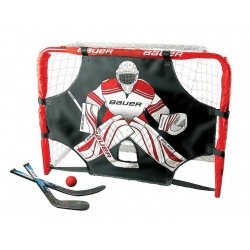 Kit mini cage Bauer Street Hockey Deluxe