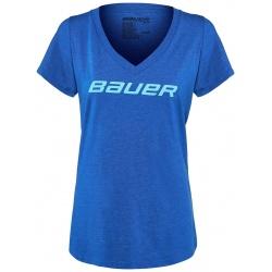 T-Shirt Bauer Hockey V-Neck Femme - Promoglace