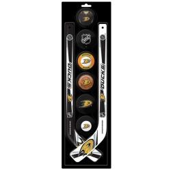 Kit NHL mini deux crosses et 6 palets mousse - Promoglace Hockey