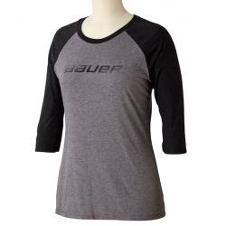 T-Shirt Bauer Fade 3/4 Raglan - Femme