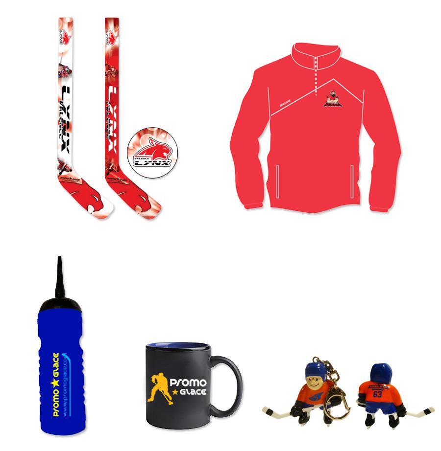 Produits dérivés club Hockey Promoglace