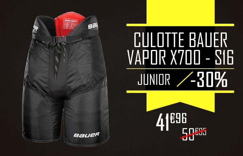 Culotte Bauer Vapor X700 - Promoglace