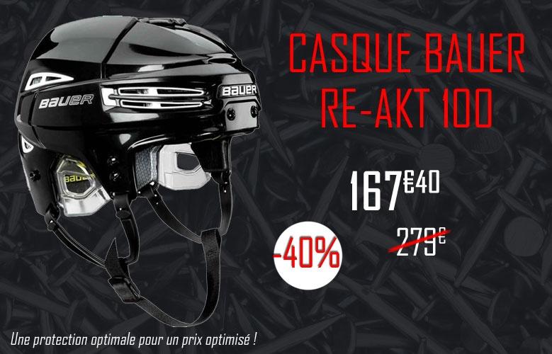 Casque Bauer Hockey Re-Akt 100 promotion - Promoglace
