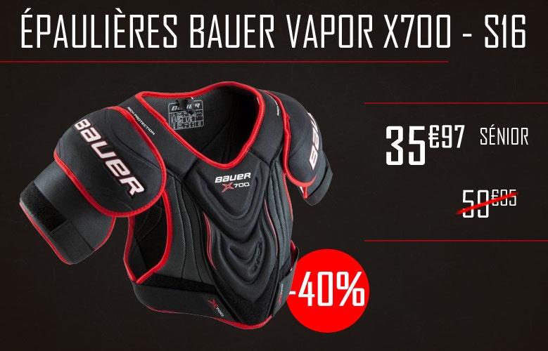 Epaulieres Bauer Vapor X700 2016 - Promoglace France