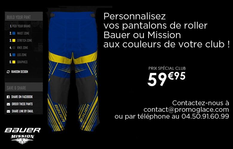 Pantalon Roller Personnalisé - Promoglace