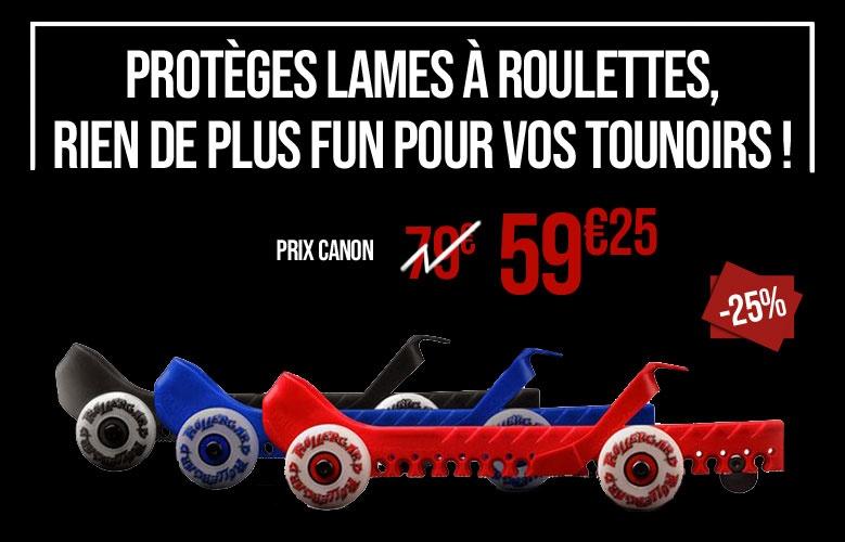 Protège lames à roulettes - Promoglace France