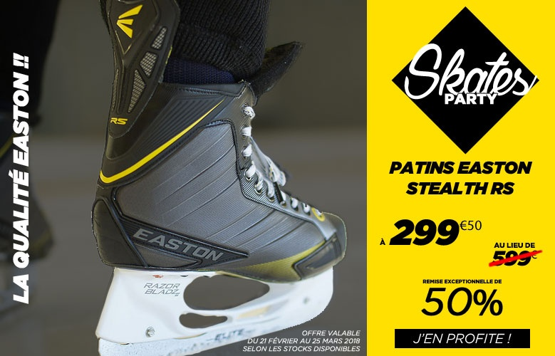 Patins Easton Hockey Stealth RS
