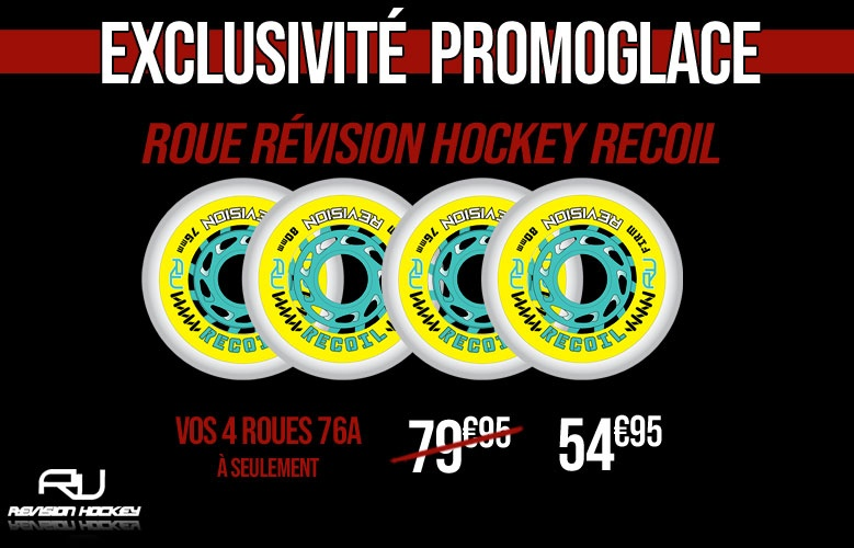 Roue Revision Recoil - Promoglace Roller
