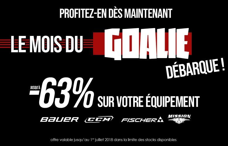 Le mois du Goalie - Promoglace France