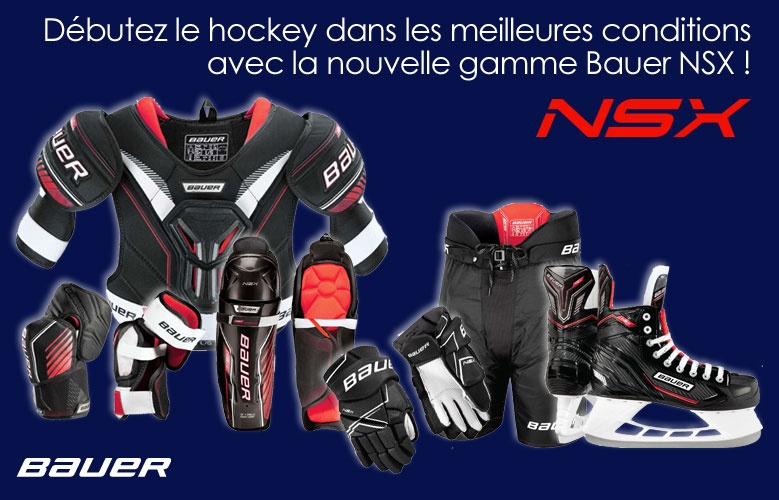 Collection Bauer Hockey NSX - Promoglace