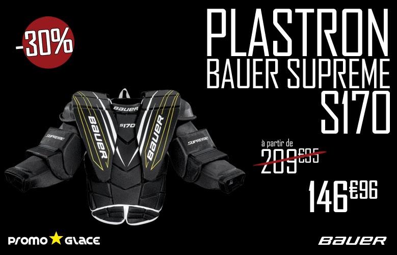 Plastron Bauer Goalie Supreme s170 - promoglace
