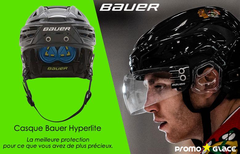 Casque Bauer Hyperlite - Promoglace Hockey