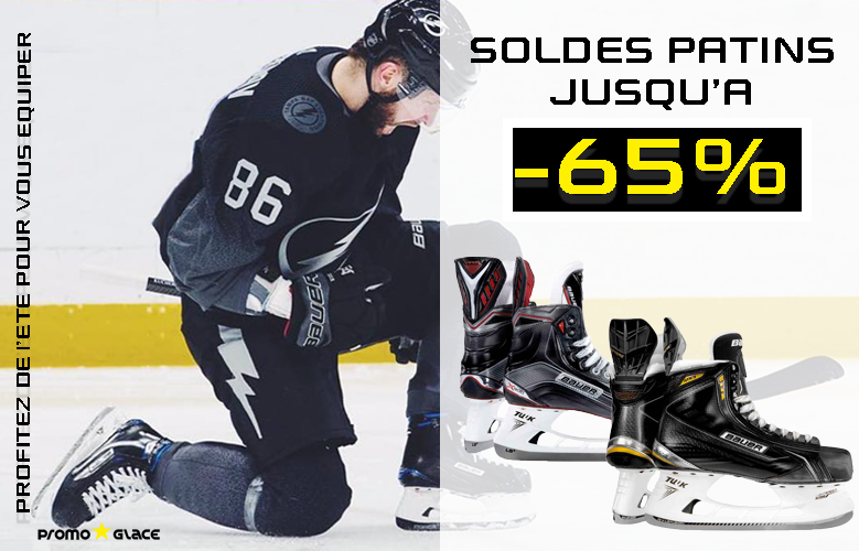 Soldes Patins Hockey - PromoglaceHockey