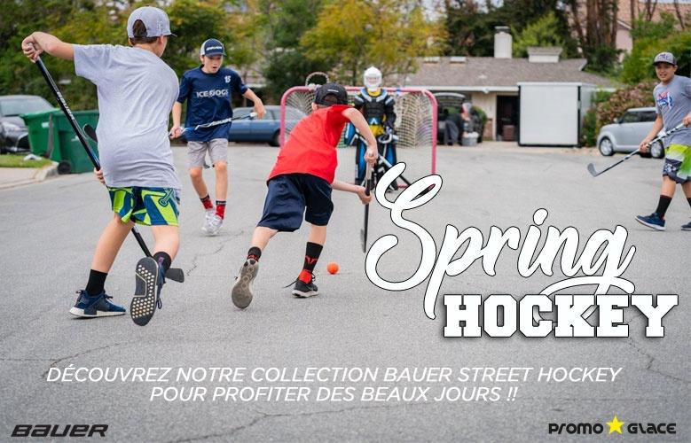 Bauer Street Hockey - Promoglace