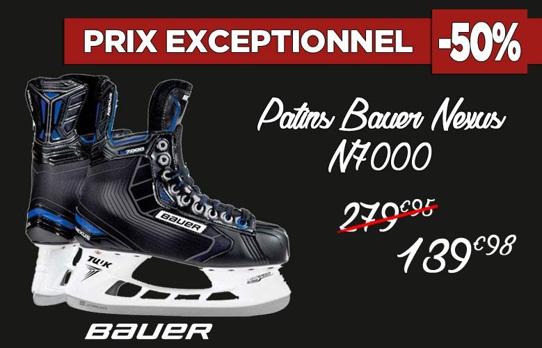 Patins Bauer Hockey Nexus N7000 en promotion