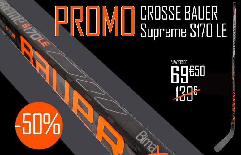 Crosse Bauer Hockey Supreme S170 LE promotion - Promoglace