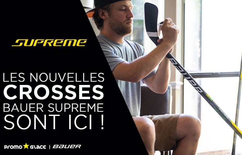 Crosses Bauer Supreme 2020 - Promoglace Hockey