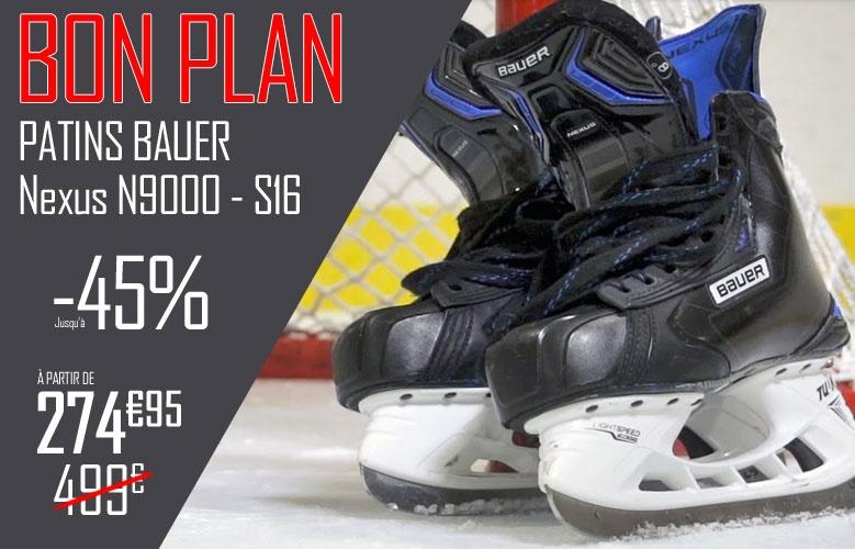 Patins Bauer Hockey Nexus N9000 - S16 en promotion