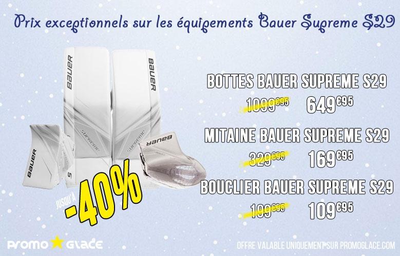 Bottes Bauer Supreme S29 - Promoglace Hockey