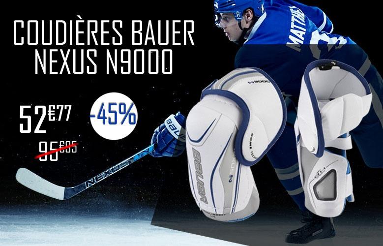 Coudières Bauer Hockey Nexus N9000 en promotion