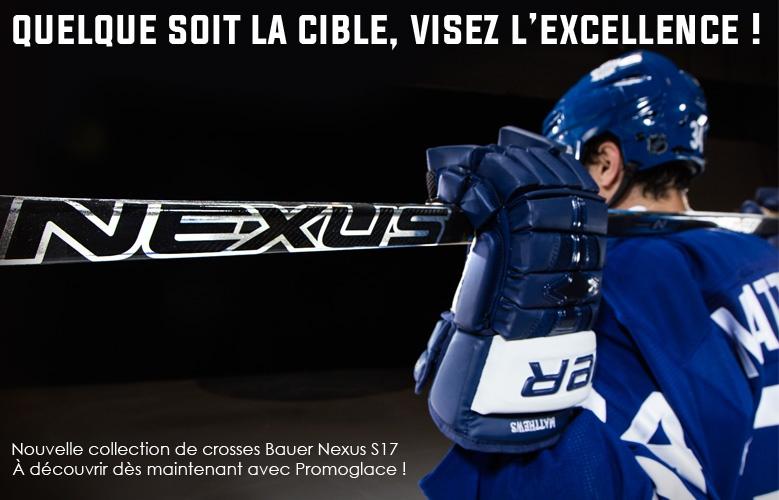Nouvelles crosses Bauer Nexus S17