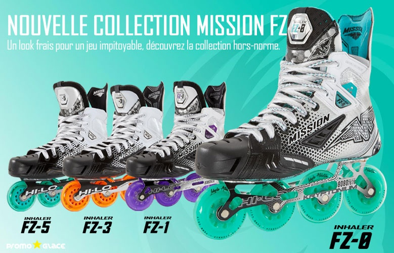 Rollers Mission Inhaler FZ - Promoglace Hockey