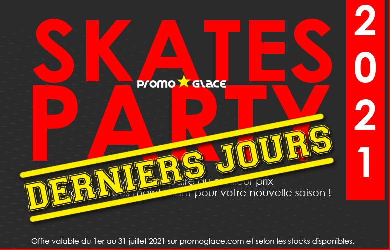 SKATES PARTY - Promoglace Hockey