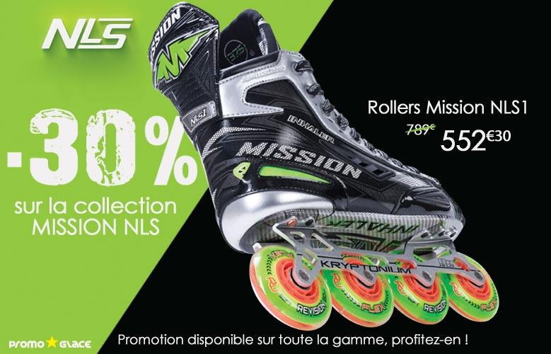 Rollers Mission Inhaler NLS - Promoglace Hockey