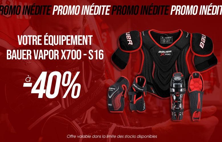 Protections Bauer Hockey Vapor X700 - S16 en promotion